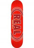 Real Skateboard Decks Oval Duo Fade red Vorderansicht 0260746