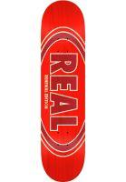 Real Skateboard Decks Oval Duo Fade red Vorderansicht 0260746