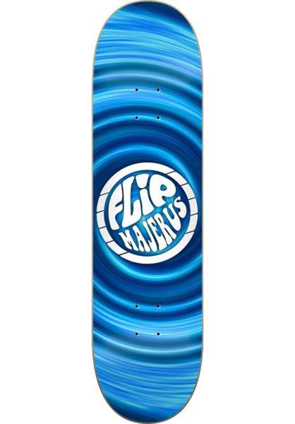 Flip Skateboard Decks Majerus Hipnotic blue vorderansicht 0262188