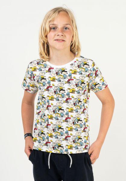 Dedicated T-Shirts Peanuts multicolor vorderansicht 0322952