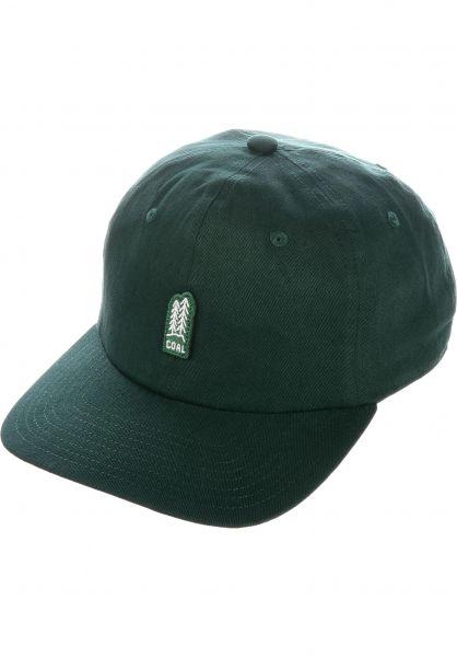 24d596db63dcda coal Caps The Junior forestgreen vorderansicht 0565194