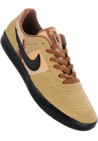 0868ded5f6 Nike SB Alle Schuhe Team Classic parachutebeige-black vorderansicht 0604425