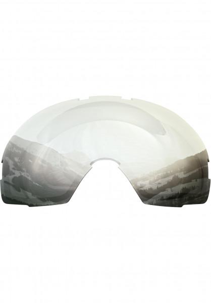 TSG Snowboard-Brille Replacement Lens Goggle One black-chrome Vorderansicht