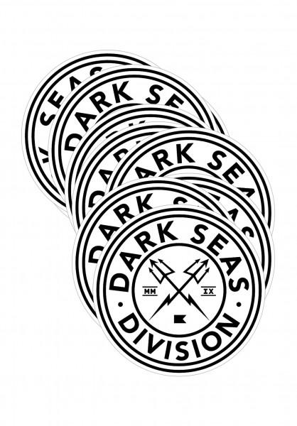 Dark Seas Verschiedenes Navigator Sticker Small 25er white Vorderansicht