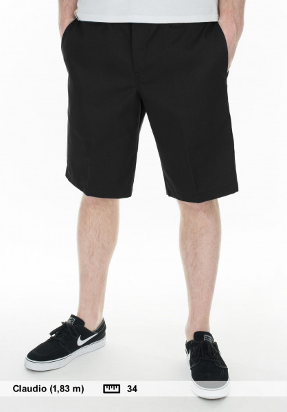 Dickies Chinoshorts 11'' Industrial Work Short black Vorderansicht