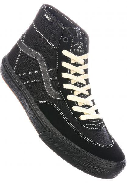 Vans Alle Schuhe Crockett High Pro black-black vorderansicht 0602294