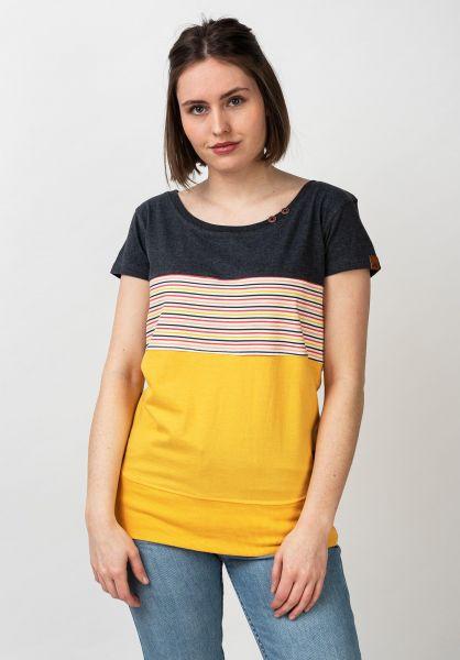 alife and kickin T-Shirts Clea amber vorderansicht 0399153