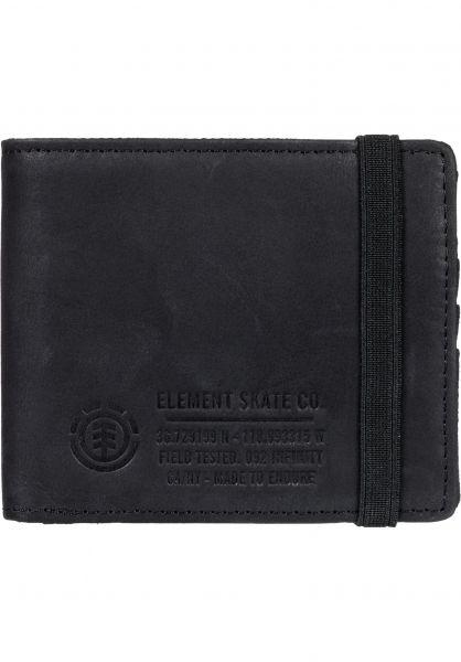 Element Portemonnaie Endure L II black vorderansicht 0781048