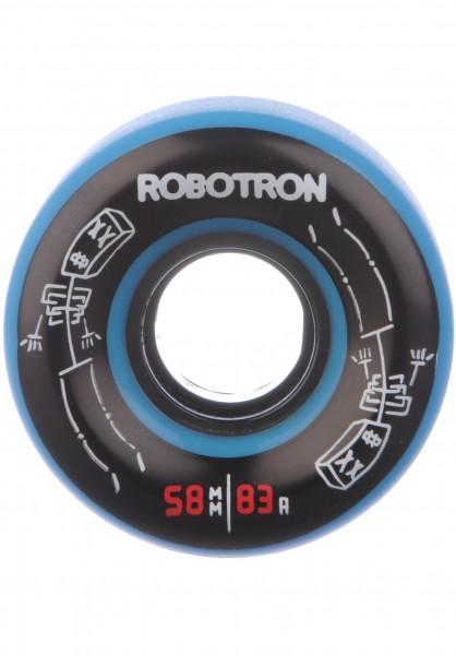 ROBOTRON Rollen Skeletron 83A blue Vorderansicht