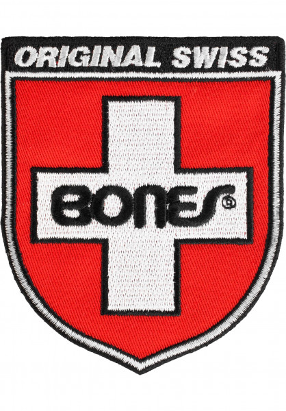 Bones Bearings Verschiedenes Swiss Shield red Vorderansicht