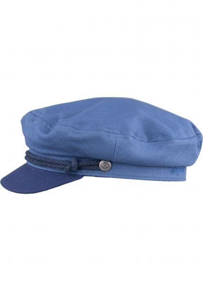 Brixton Hüte Fiddler blue-darknavy Vorderansicht
