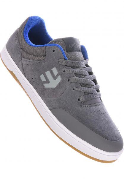 etnies Alle Schuhe Marana x Michelin grey-darkgrey-blue vorderansicht 0604316
