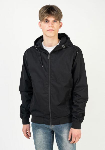 Mazine Übergangsjacken Campus Light Jacket black vorderansicht 0504594