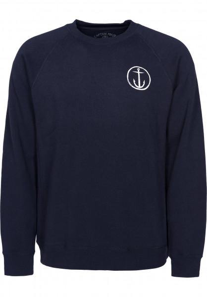 Captain Fin Sweatshirts und Pullover Helm navy Vorderansicht