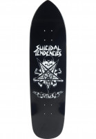 TITUS Skateboard Decks Pentagram Suicidal Collabo black Vorderansicht