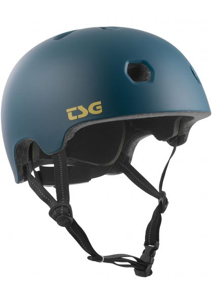 TSG Helme Meta Solid Color satin jungle Vorderansicht