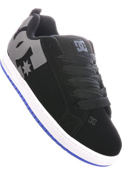 DC Shoes Alle Schuhe Court Graffik black-royal vorderansicht 0603515