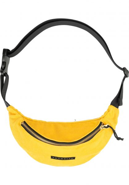 Favorite Hip-Bags Corduroy mustard-gold vorderansicht 0169152