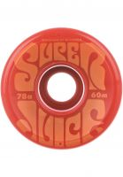 OJ Wheels Rollen Super Juice 78A red Vorderansicht