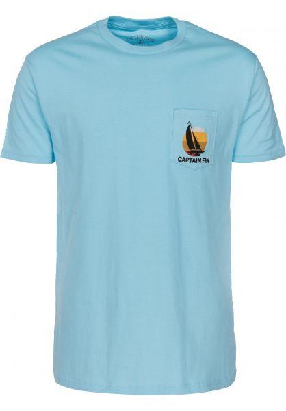 Captain Fin T-Shirts Moku sky Vorderansicht