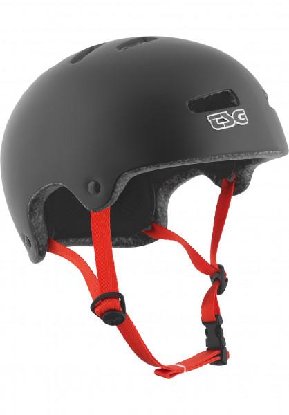 TSG Helme Superlight Solid Colors satin-black Vorderansicht