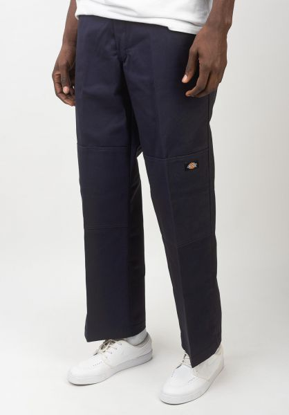 Dickies Chinos und Stoffhosen Double Knee Work Pant darknavy vorderansicht 0204120