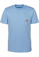 Carhartt WIP T-Shirts Pocket heaven Vorderansicht