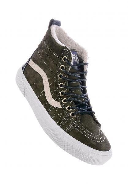 Vans Alle Schuhe Sk8-Hi MTE dustyolive-darkestspruce vorderansicht 0612371