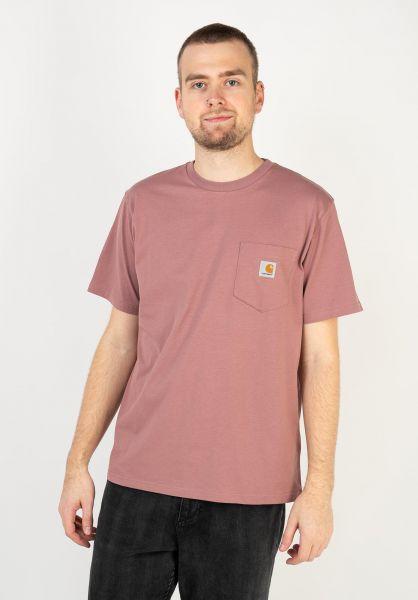 Carhartt WIP T-Shirts Pocket malaga vorderansicht 0393365