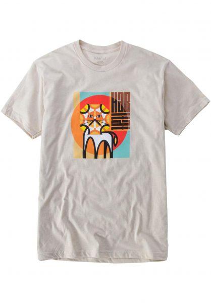Habitat T-Shirts Leo Risen natural vorderansicht 0321795