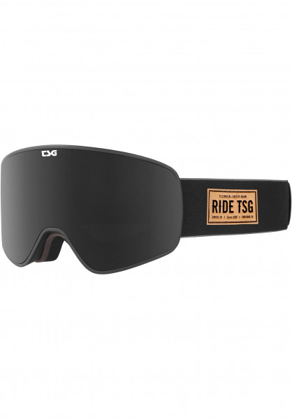 TSG Snowboard-Brille Goggle Amp chopper leather Vorderansicht