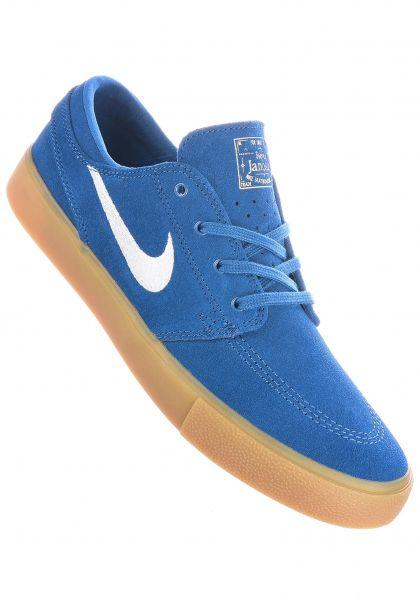 Nike SB Alle Schuhe Zoom Stefan Janoski RM courtblue-white-courtblue vorderansicht 0604615
