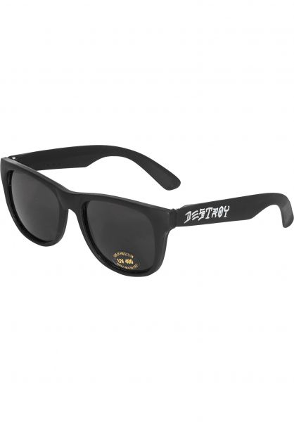 38a3b7698c8a Skate and Destroy Thrasher Sunglasses in black-white for Men | Titus