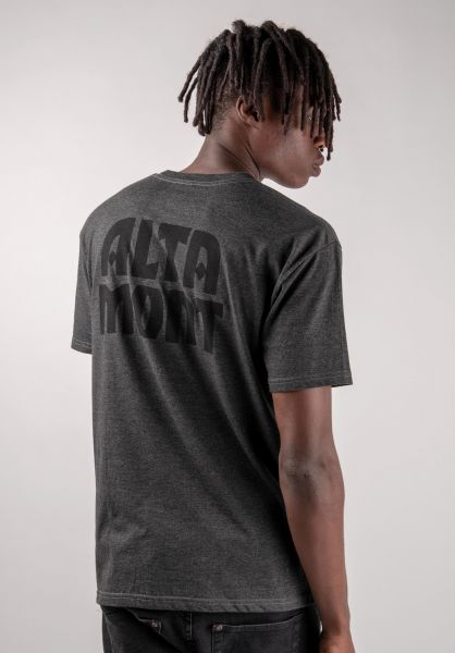 Altamont T-Shirts Alt A charcoalheather vorderansicht 0383229