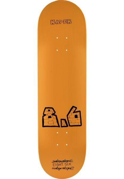 Baker Skateboard Decks Kader Mega yellow vorderansicht 0263412