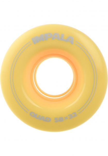 Impala Alle Schuhe Replacement Wheels 4Pk pastel-yellow vorderansicht 0640092