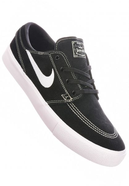 Nike SB Alle Schuhe Zoom Stefan Janoski RM black-white-coconutmilk vorderansicht 0604615