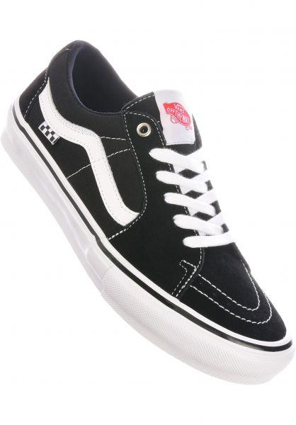 Vans Alle Schuhe Skate SK8-Low black-white vorderansicht 0604965