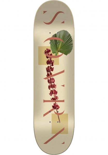 SOVRN Skateboard Decks Logo 04 cream vorderansicht 0262232
