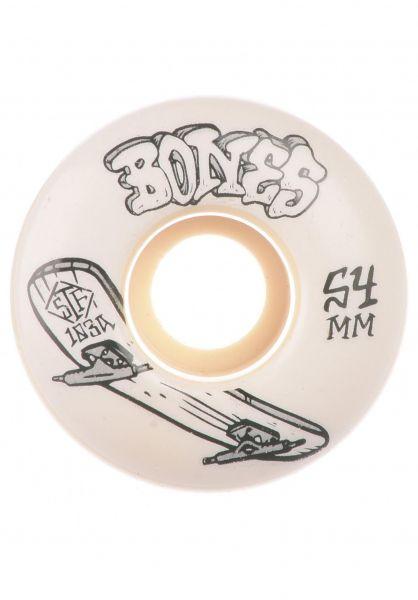 Bones Wheels Rollen STF Heritage Series Boneless 103A V1 Standard white vorderansicht 0135414