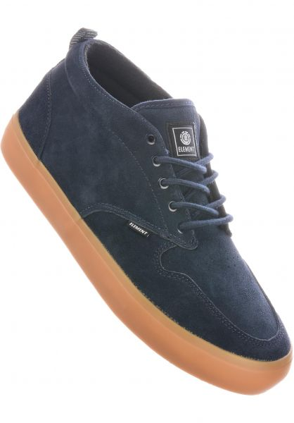 Element Alle Schuhe Preston 2 navy-gum vorderansicht 0604701