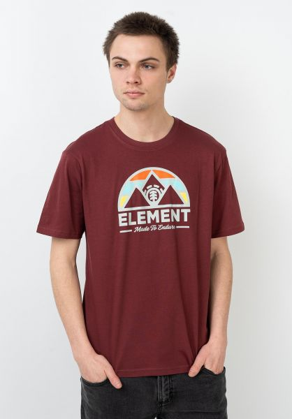 Element T-Shirts Squaw port vorderansicht 0321663