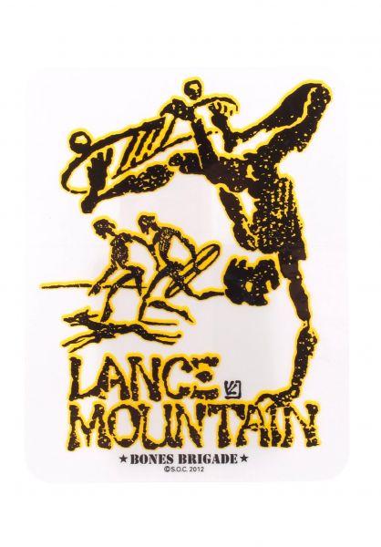 Powell-Peralta Verschiedenes Lance Mountain clear Vorderansicht