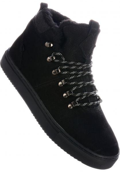 Djinns Alle Schuhe Trek High Fur black-black vorderansicht 0604312