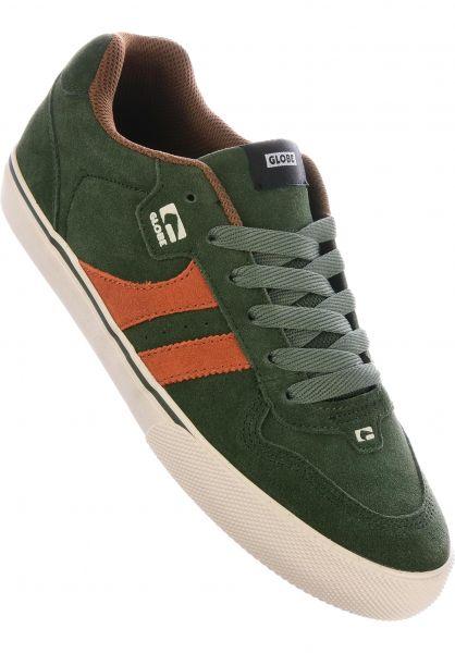Globe Alle Schuhe Encore 2 riflegreen-rust Vorderansicht