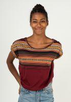 iriedaily-t-shirts-vinta-block-bordeaux-vorderansicht-0323675