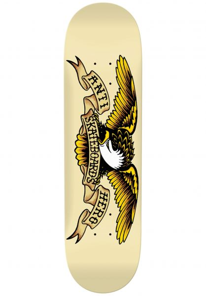 Anti-Hero Skateboard Decks Classic Eagle cream vorderansicht 0118797