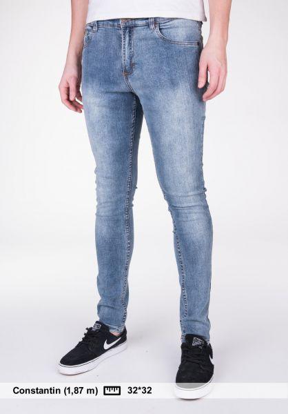 TITUS Jeans Skinny Fit blue-vintage Vorderansicht
