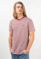 cleptomanicx-t-shirts-stripe-rosewood-vorderansicht-0392887