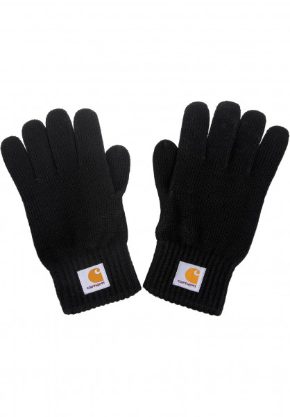 Carhartt WIP Handschuhe Watch Gloves black Vorderansicht